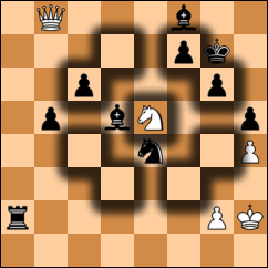 How the knight moves in a chess board