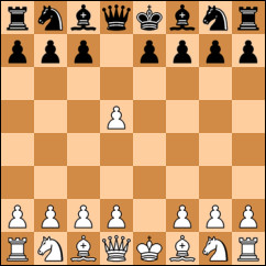 How the pawn moves in a chess board