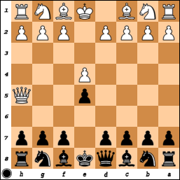 beat the four move mate chess improvement for beginners